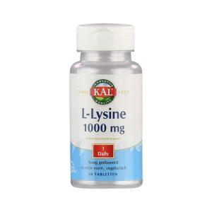 Kal L-lysine 1000mg Tabletten