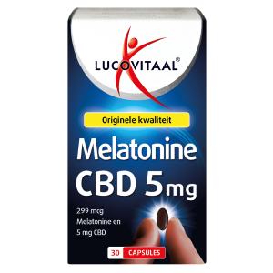Lucovitaal Melatonine CBD 5 Mg Capsules